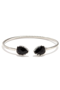 Spearhead Trail Silver Bracelet at Lulus.com!