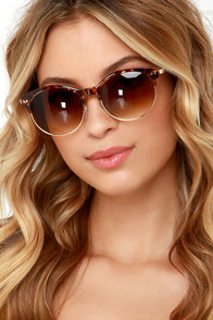 Voyager Tortoise Sunglasses at Lulus.com!