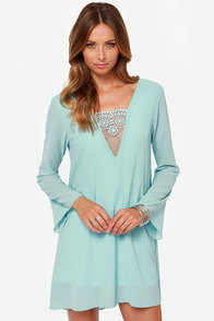 Day in Dreamland Light Blue Dress at Lulus.com!