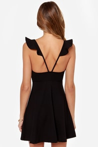 Leave a Light On Black Dress at Lulus.com!