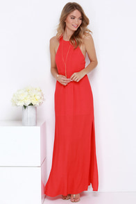 Mayan Empress Red Maxi Dress at Lulus.com!