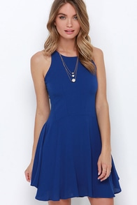 Stories of Sunshine Royal Blue Dress at Lulus.com!