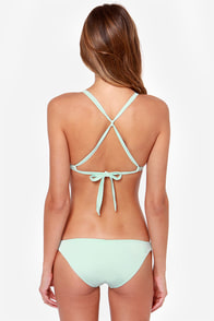 Volcom Mother Pucker Mint Green Bikini at Lulus.com!