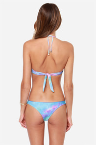 Wildfox Mr. Nice Guy Purple Tie-Dye Bikini at Lulus.com!