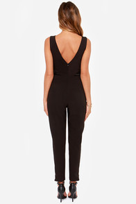 Lumier The Artist Black Jumpsuit at Lulus.com!