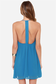 LULUS Exclusive Piece of Paradise Blue Dress at Lulus.com!