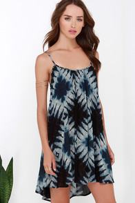 Amuse Society Opal Blue Print Dress at Lulus.com!
