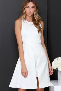 Keepsake Mysterious Ways Ivory Midi Dress at Lulus.com!