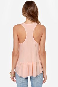LULUS Exclusive Positive Outlook Blush Top at Lulus.com!