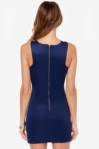 LULUS Exclusive Full Chic Ahead Navy Blue Dress at Lulus.com!