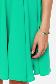 LULUS Exclusive In the Zone Green Dress at Lulus.com!