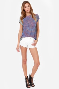 Obey Back Alley Nubby Tie-Dye Tee at Lulus.com!