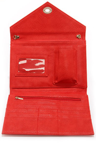 Room For All Red Clutch at Lulus.com!