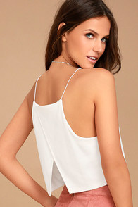 Share My Lair Ivory Crop Top at Lulus.com!