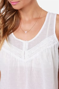 Olive & Oak Ode to Joy Ivory Top at Lulus.com!