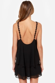 Daisy-ing is Believing Black Dress at Lulus.com!