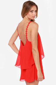Daisy-ing is Believing Red Dress at Lulus.com!