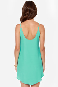 Lucy Love Go To Turquoise Dress at Lulus.com!