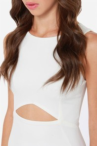 LULUS Exclusive Full Chic Ahead Ivory Dress at Lulus.com!