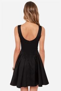 LULUS Exclusive Stun Double Black Dress at Lulus.com!