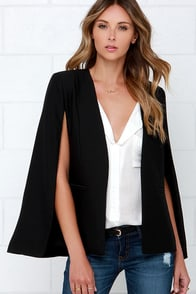 BB Dakota Bristol Black Blazer at Lulus.com!