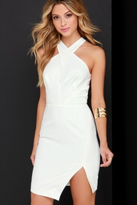 Keepsake Motionless Ivory Dress at Lulus.com!