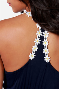 LULUS Exclusive Every Daisy Navy Blue Dress at Lulus.com!