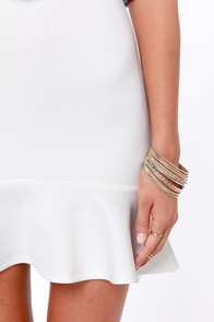 LULUS Exclusive Play the Trumpet Ivory Skirt at Lulus.com!
