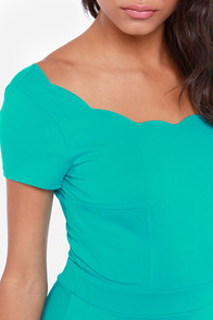 LULUS Exclusive Stun House Teal Dress at Lulus.com!