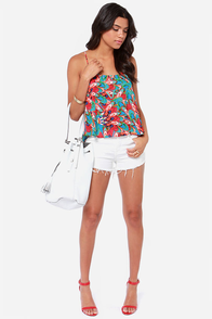 Marble to Behold Print Tank Top at Lulus.com!