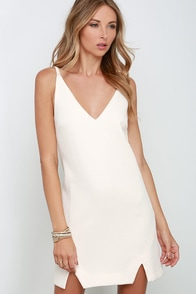 Elliatt Observer Cream Dress at Lulus.com!