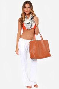 Roxy Criss Cross Surfer Coral Orange Bikini at Lulus.com!