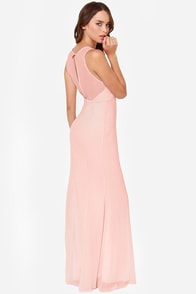 LULUS Exclusive Let's Dance Light Pink Maxi Dress at Lulus.com!