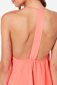 LULUS Exclusive Piece of Paradise Neon Pink Dress at Lulus.com!