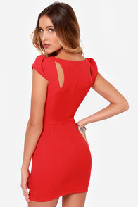 LULUS Exclusive Lily Pond Lady Red Dress at Lulus.com!