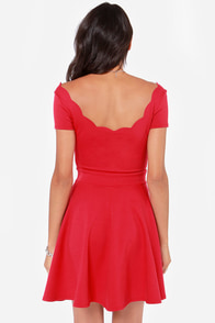 LULUS Exclusive Stun House Red Dress at Lulus.com!