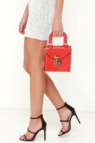 All of My Heart Red Mini Handbag at Lulus.com!