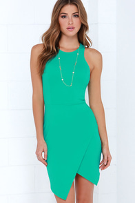 Rocksteady and Ready Sea Green Bodycon Dress at Lulus.com!