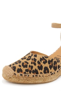 Seychelles Truth Be Told Leopard Print Espadrille Wedges at Lulus.com!