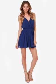 LULUS Exclusive Bright Kind of Love Blue Dress at Lulus.com!