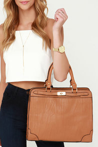 High Class Hero Tan Handbag at Lulus.com!