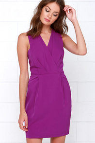 It's a Beautiful Life Magenta Dress at Lulus.com!