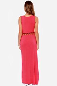 Olive & Oak Long Gone Berry Pink Maxi Dress at Lulus.com!