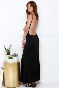 Rise of Dawn Tame Me Black Maxi Dress at Lulus.com!