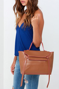 Too Legit To Quit Tan Handbag at Lulus.com!