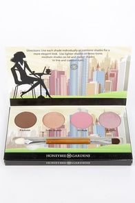 Honeybee Gardens Cosmopolitan Eye Shadow Palette