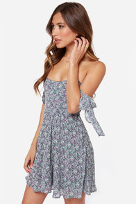 For Love & Lemons Kiss Me Strapless Floral Print Dress at Lulus.com!