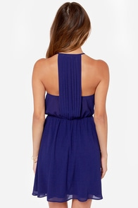 LULUS Exclusive Start Something Blue Dress at Lulus.com!