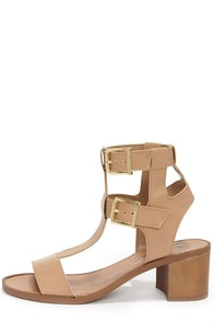 Robin 21 Natural Caged Sandals