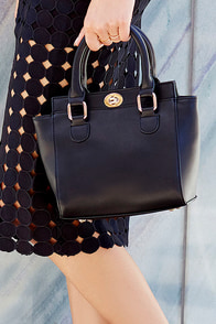 Baby Vamp Black Mini Handbag at Lulus.com!